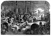 Steel manufactures of Sheffield, Yorkshire, 1866