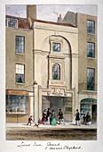 Lyon's Inn, Strand, Westminster, London, c1850