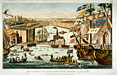 Opening of St Katharine's Dock, London, October 25 1828