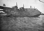 Short Empire flying boat Corinthian, Alexandria, Egypt
