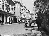 Street scene, Casablanca, Morocco