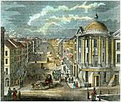 State Street, Albany, New York, USA, c1835