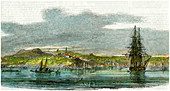Auckland, New Zealand, c1880