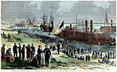 Recapture of Baton Rouge, American Civil War, 1862