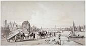 Millbank, Westminster, London, 1841