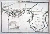 Plan of the River Thames, 1797