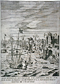 Arrival of Queen Henrietta Maria at the Tower of London
