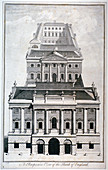 Bank of England, City of London, c1750