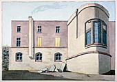 Barber Surgeons' Hall, City of London, c1800