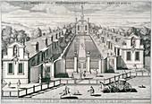 Trinity Almshouses, Mile End Road, Stepney, London, 1696