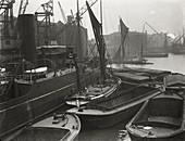 Entrance to St Katharine's Dock, London, c1925
