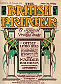 The British Printer - advert, 1916