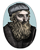 John Wycliffe, 14th century English religious reformer