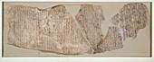 Ostracon, inscribed in hieratic, XIXth Dynasty