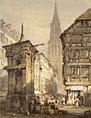A View in Strasbourg, 1822