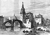 Bilbao, Spain, April 1874