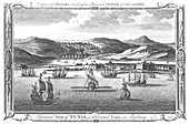 A General View of Tunis, a celebrated Town in Barbary, 1782