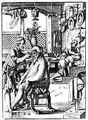 Barber, 16th century