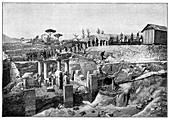 Pompeii, Italy, 1900