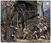 The Catapult', c1868