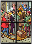 A brewery, 15th century