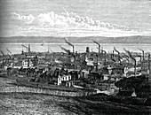 Dundee, Scotland, c1880