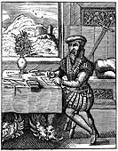 Draughtsman, 16th century