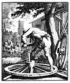 The wagon maker, 18th century