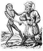 Death and the Jew, 17th century