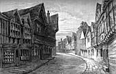 Friars' Street, Worcester, 1893