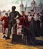 Execution of Lady Jane Grey', 1554