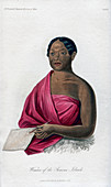 Woman from the Samoan Islands', 1848