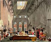 Kitchen, St James's Palace, London, 1819
