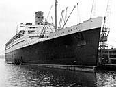 Ocean liner RMS 'Queen Mary', 20th century