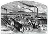 The Worcester Royal Porcelain Works, c1880