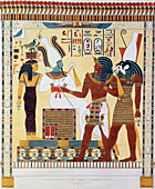Mural from the Tombs of the Kings of Thebes