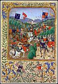 Battle of Agincourt, France, 25 October 1415