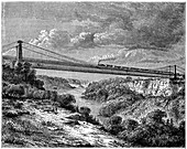 Bridge over the Niagara, Canada, 19th century