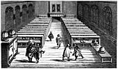 Leiden University public library, Leiden, 1614