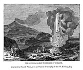 The Geysers, or Hot Fountains of Iceland', 1843