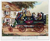 London and Bath Steam Carriage, 1840, c1800-1840