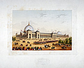Site of the 1862 International Exhibition, London