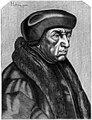 Erasmus, Dutch humanist and theologian, 16th century