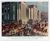 The Royal Mails at London General Post Office', 1830