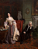 Alexander Pope and Lady Mary Wortley Montagu