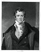 Humphry Davy, English chemist, (1833)