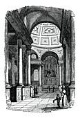 St Stephen's Church, Walbrook, London, 1833