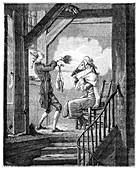 The Toilet Of The Clerk Prosecutor, (1885)