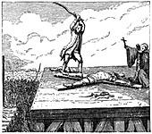 Prisoner Receives Torture, (1885)