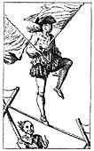 Acrobat Exercise, (1885)